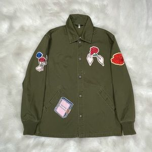 Opening Ceremony Patch Shirt Jacket